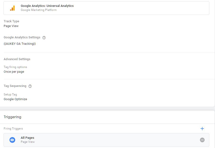 错误应用-GTM页面追踪设置